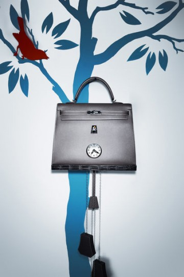 Hermes petit h_wandklok Kelly Bag