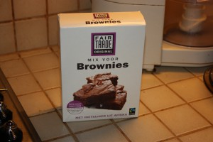 Mix voor brownies van Fair Trade Original 1