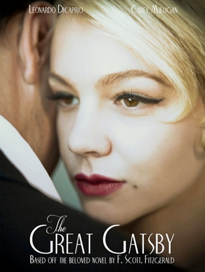 The Great Gatsby 2012 film poster