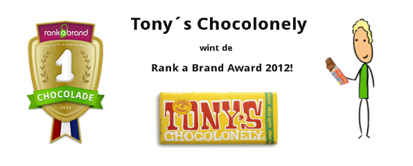 Rank a Brand Award - Tony's Chocolonely