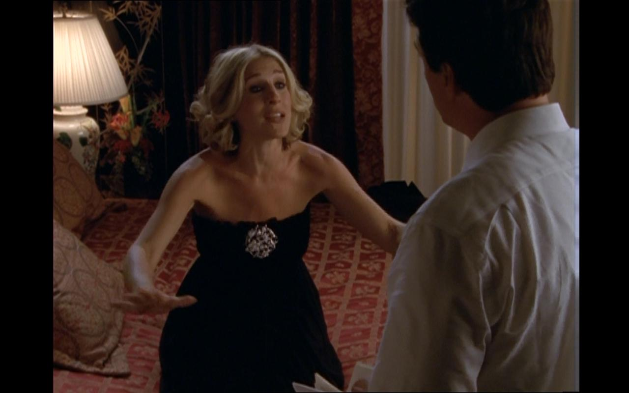 Carrie Bradshaw Little Black Dress on Sex and the City