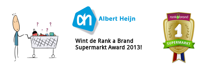 Rank a Brand Award_supermarkt Albert Heijn
