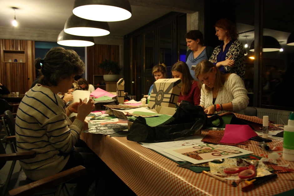 Fairminds & Etsy Papercraft workshop_Tafel