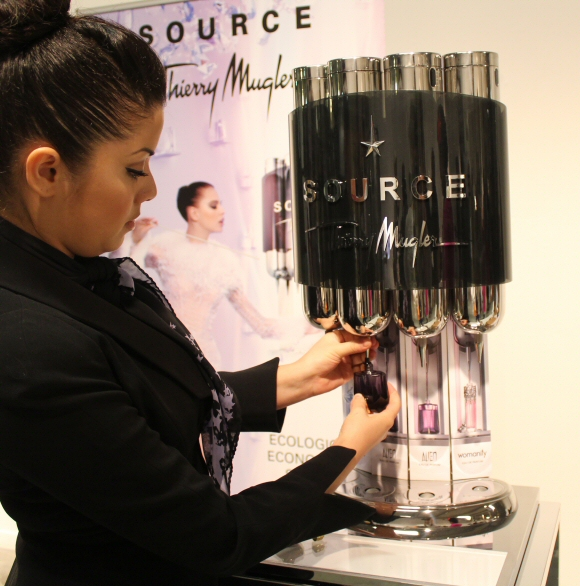 Thierry Mugler Goes Eco Navulverpakking Voor Parfum Green And The