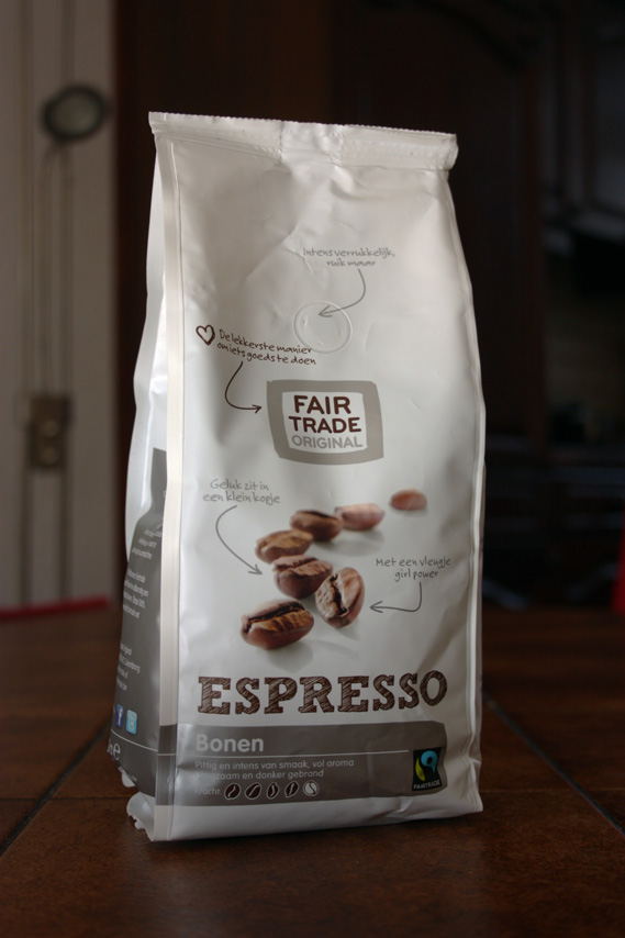 Fair Trade Original espresso koffiebonen zak