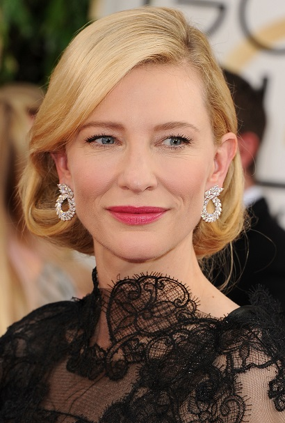 Green Carpet Challenge Chopard_Cate Blanchett at Golden Globes