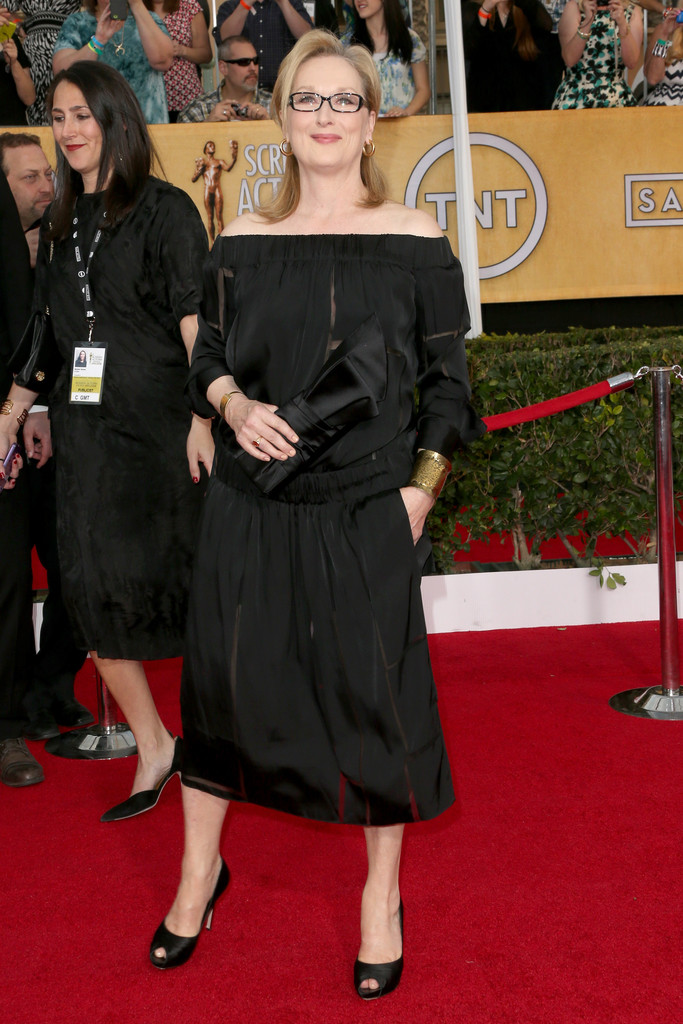 SAG Awards_Stella McCartney aw13 Meryl Streep