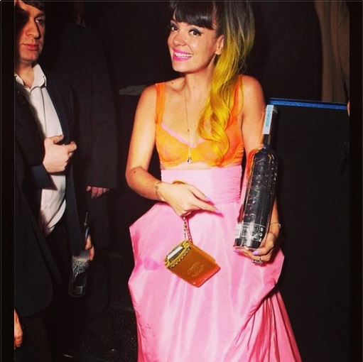 Brit Awards 2014 - Lily Allen - Vintage Scaasi - WilliamVintage