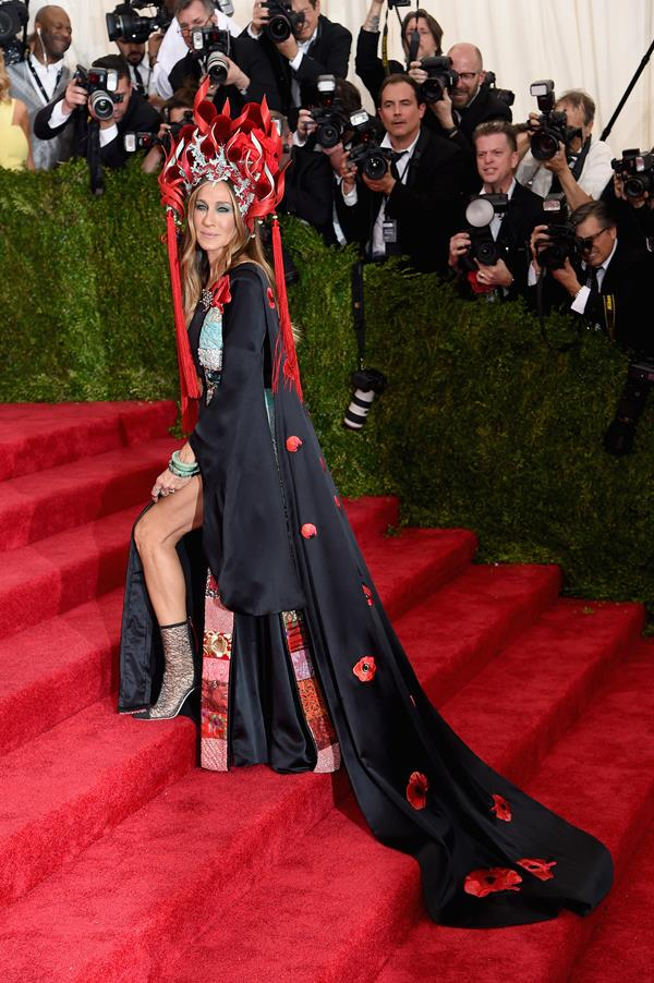 Sarah Jessica Parker at the Met Ball 2015