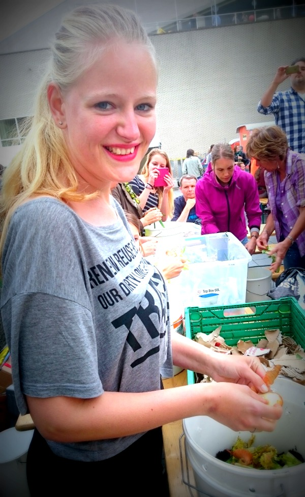 DAMn Food Waste wormenhotel maken | green and the cities
