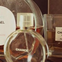 Chanel vaasje DIY - green an the cities