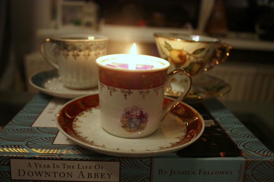 herfst diy | downton tea light | green and the cities