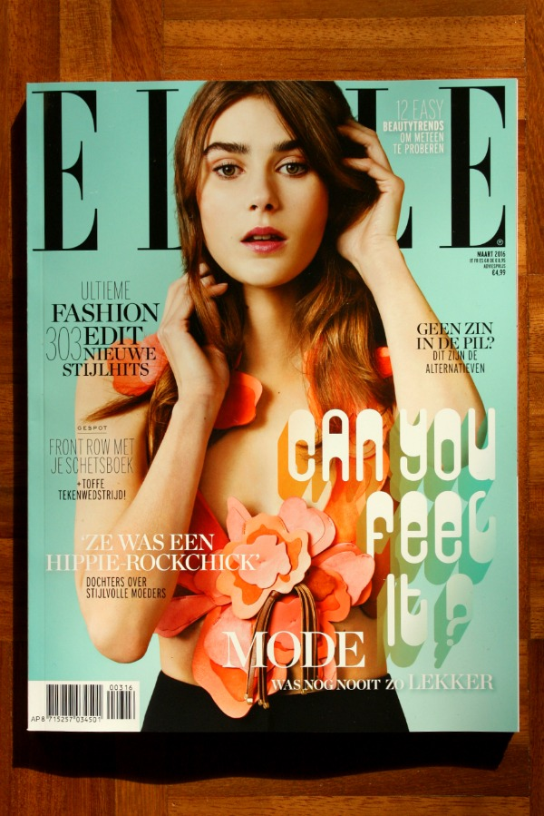 The March Issue Green Elle | green and the cities