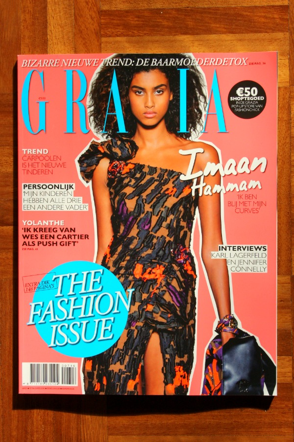 The March Issue Green grazia | green and the cities