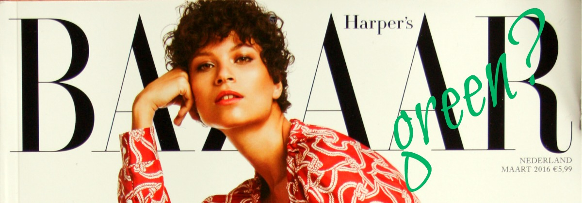 The March Issue Green Harper's Bazaar   green and the cities