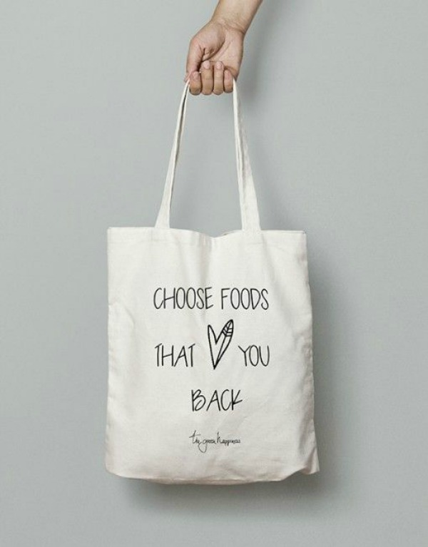 duurzame tasjes | choose foods that love you back - The Green Happiness | green and the cities