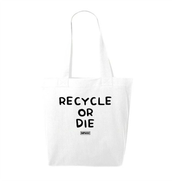 duurzame tasjes | recycle or die - rapanuiclothing | green and the cities