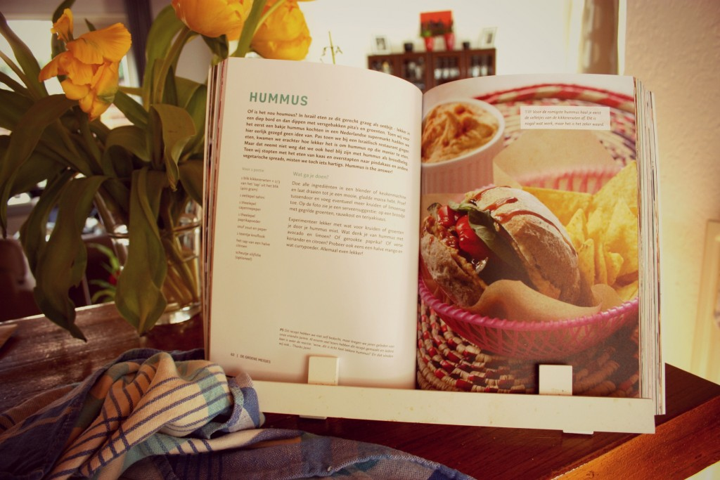 de groene meisjes boek | hummus recept | green and the cities