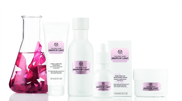 The Body Shop - Drops of Light range | green and the cities