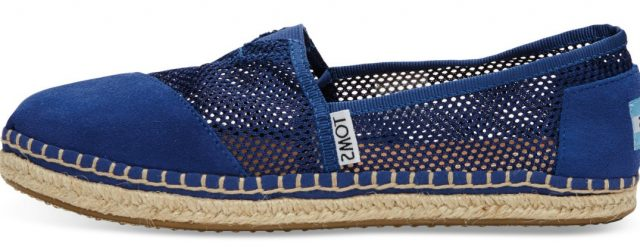TOMS ink mesh women classic | green and the cities