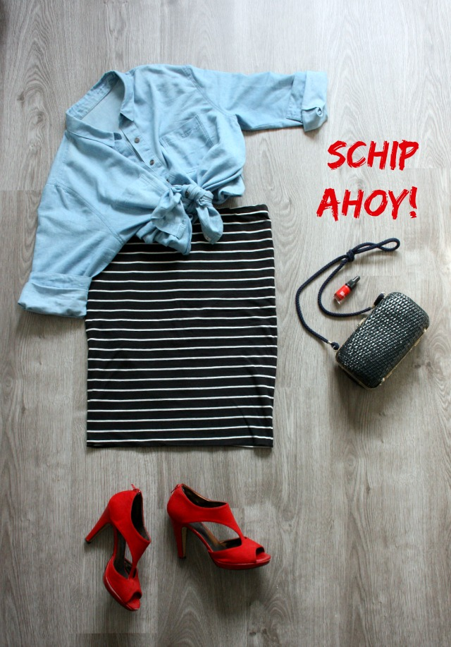 outfit inspiration | schip ahoy! | green and the cities