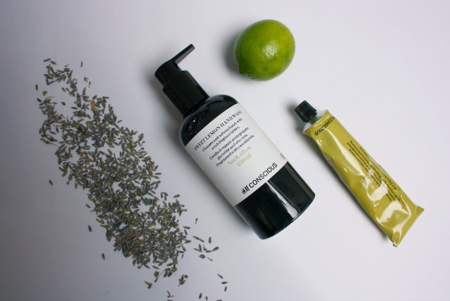 sweet lemon hand care set | H&M conscious beauty | green and the cities