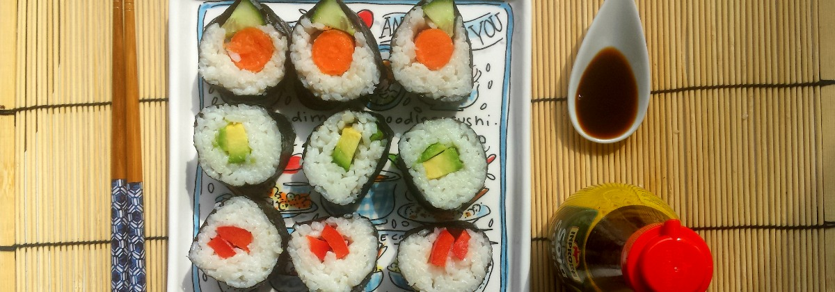vegan sushi recept | green and the cities