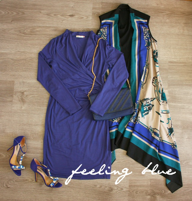feeling blue | outfit inspiration | green and the cities