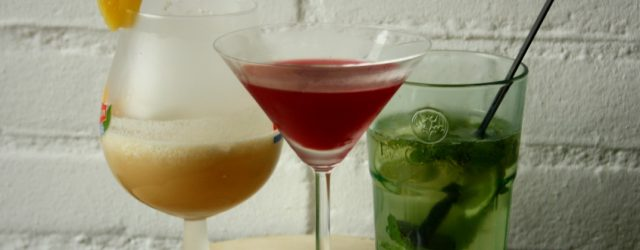mocktails - virgin cocktails | green and the cities