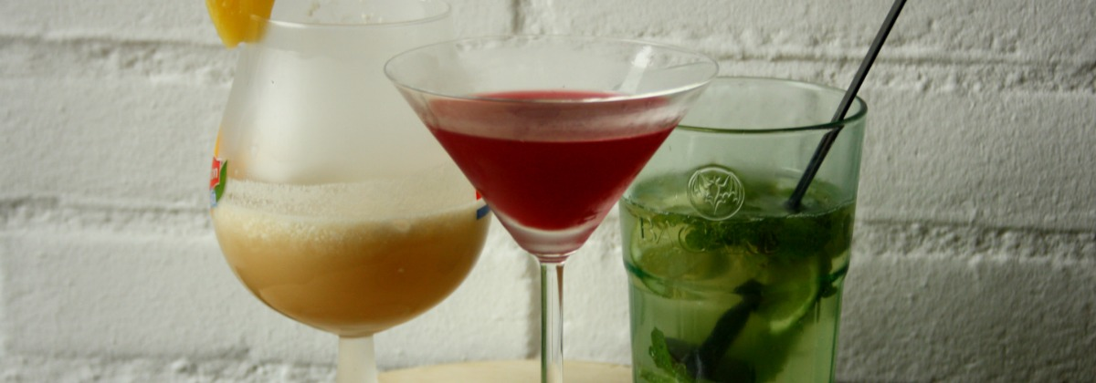 mocktails - virgin cocktails   green and the cities