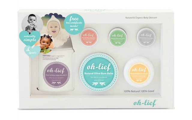 baby verzorgingsproducten | oh-lief baby box | green and the cities