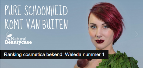 rank a brand cosmetica | weleda nummer 1 | green and the cities