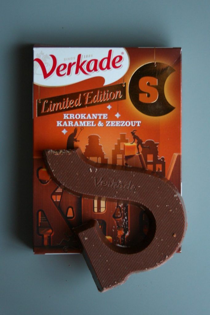 karamel zeezout chocoladeletter verkade | green and the cities