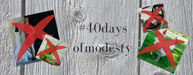 #40daysofmodesty | green and the cities