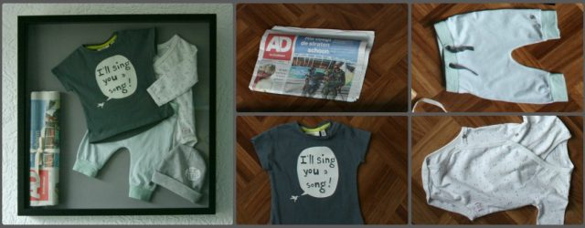 baby keepsake shadow box DIY | green and the cities