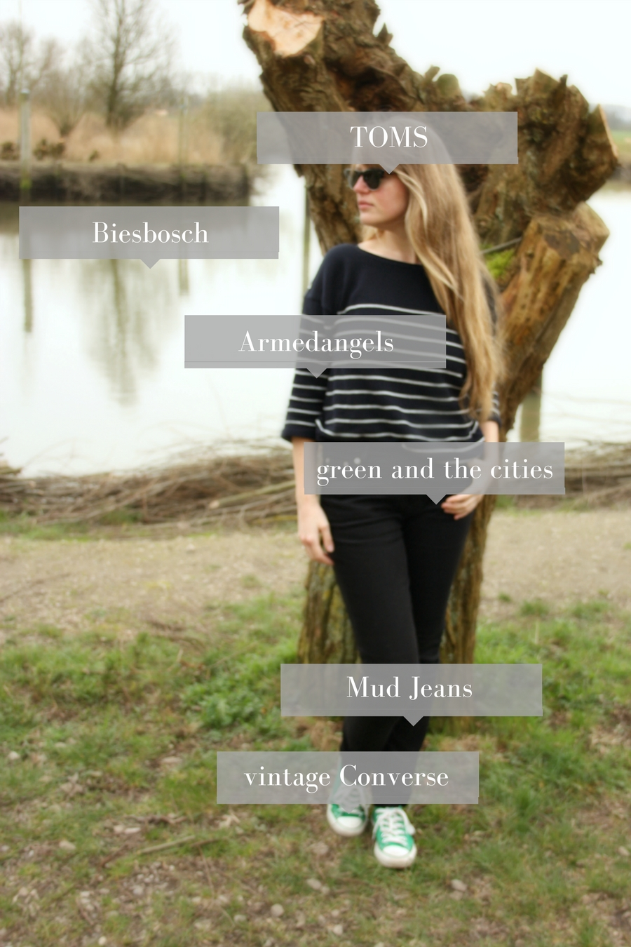 casual parisian chic outfit - watmooi | green and the cities