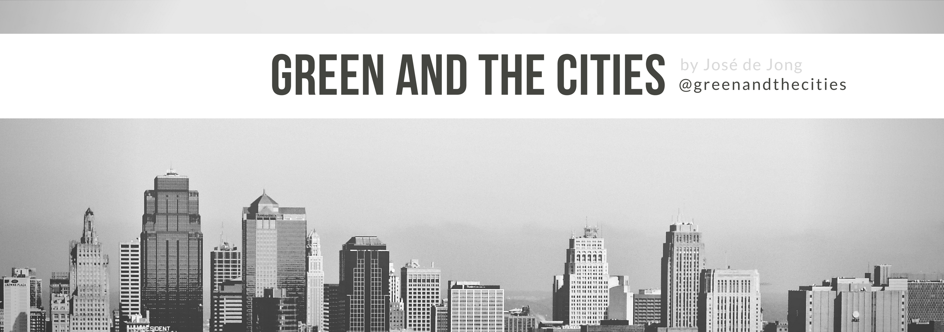green and the cities