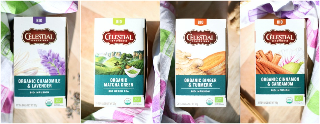 celestial seasonings bio infusion | green and the cities