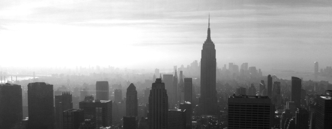 sex and the city - new york skyline | green and the cities