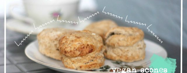 vegan scones plantaardig recept - greenandthecities.nl