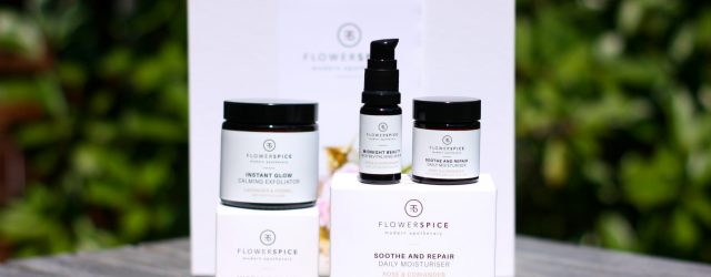 flower and spice gezichtsverzorging - midnight beauty, soothe and repair, instant glow - green and the cities